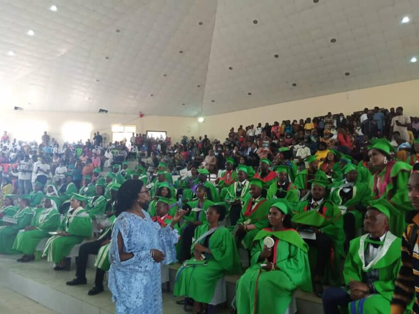 IMSU Induction of 2020/2021 set of medical doctors - see who emerged as best graduating student