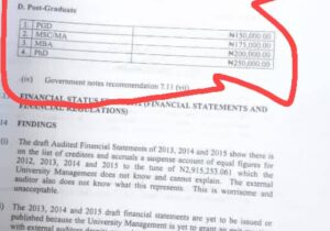 IMSU proposed school fees for 2020/2021 academic session