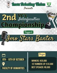 IMSU health science faculty emerges winner of the VC's inter-faculty debate championship 2021